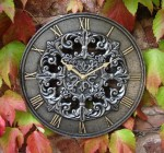 Belvoir outdoor garden clock