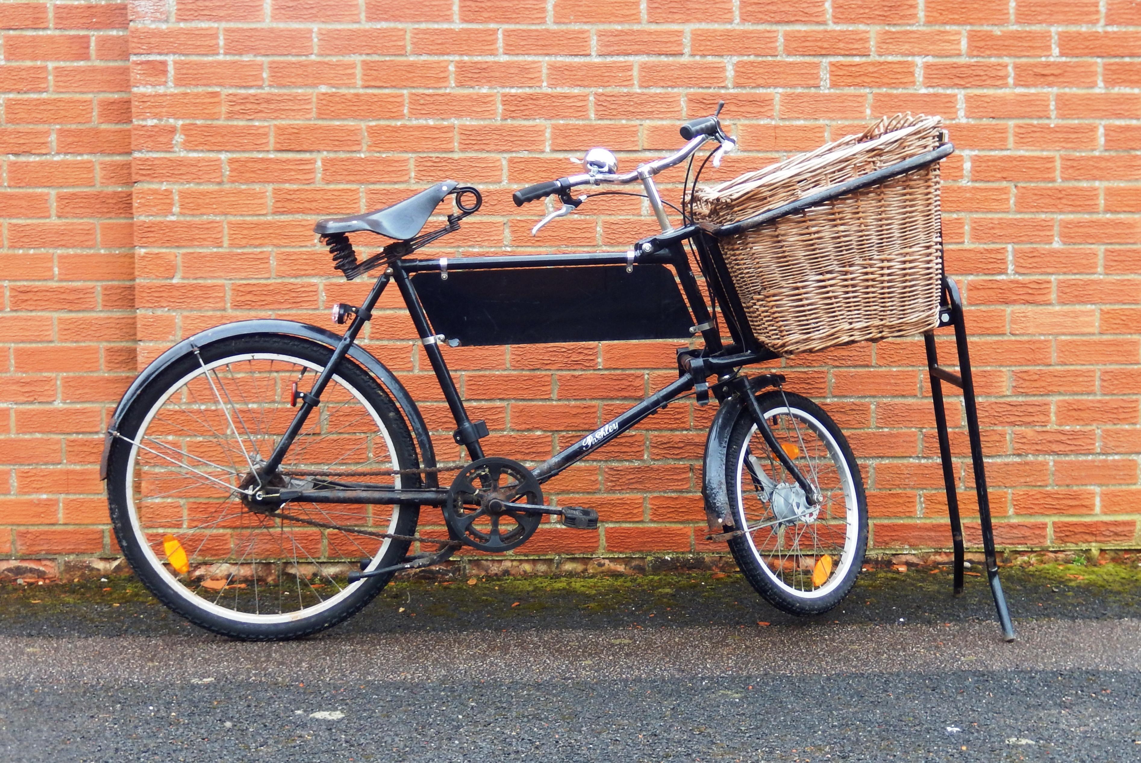 Pashley trades bike