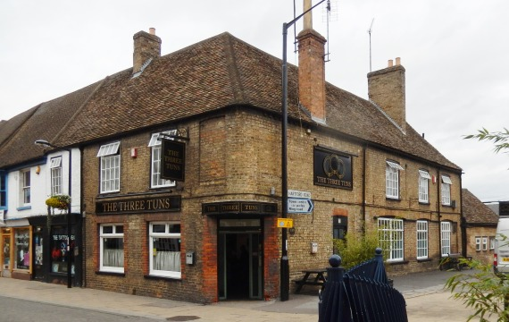 The Three Tuns public house Huntingdon
