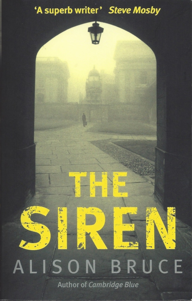 Book cover of The Siren by Alison Bruce