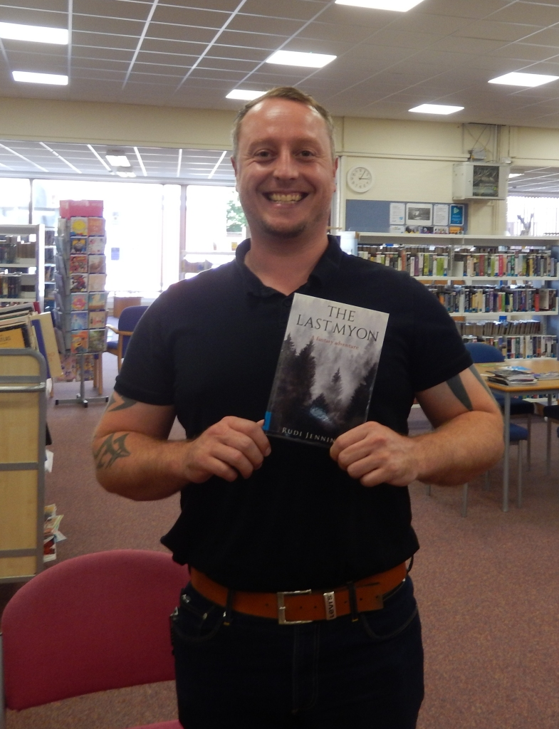 Rudi Jennings at Whittlesey Library