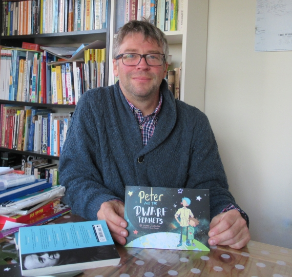Stephen Alexander author of Peter and the Dwarf Planets