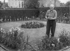 Grandad with the garden cup