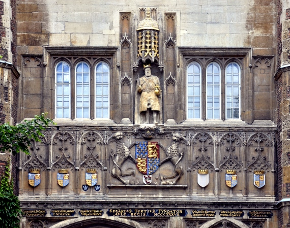 Cambridge_Trinity_College_Great_Gate_2011_detail