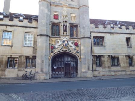 Christ's College entrance